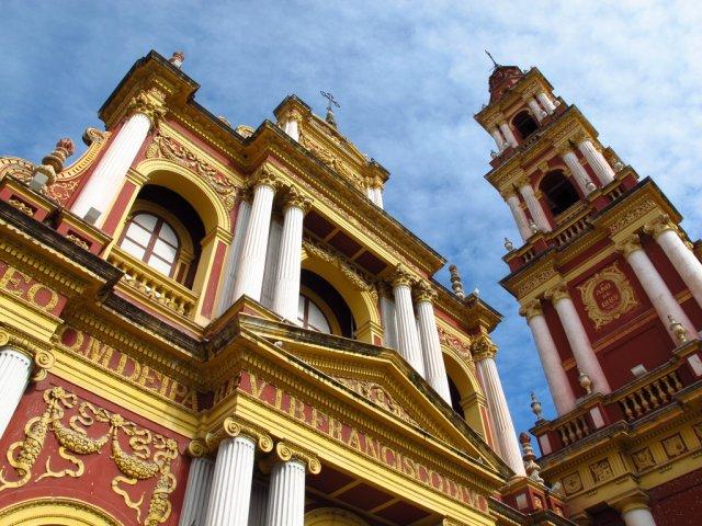 Церковь в городе Сальта, Аргентина