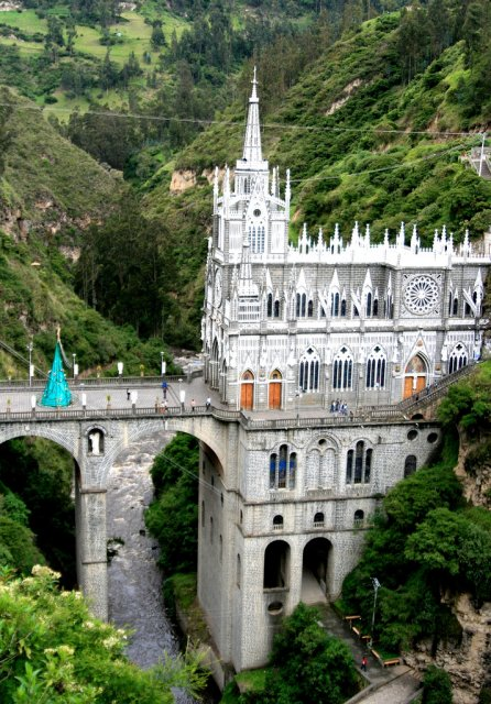 Храм Las Lajas Cathedral Sanctuary, Колумбия