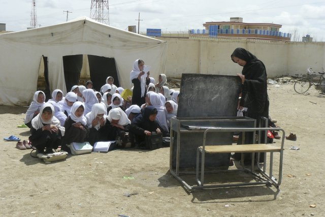 Дети в школе, Афганистан