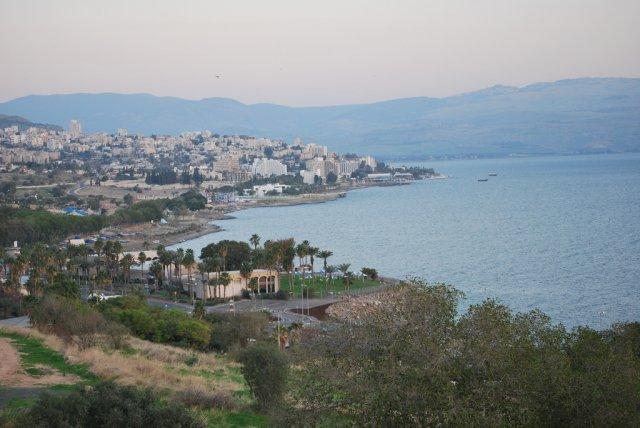 Галилейское море (озеро Кинерета), Тибериас, Израиль