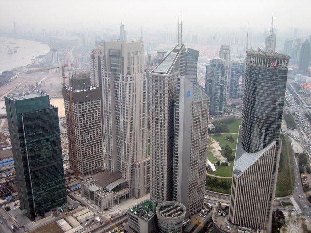Небоскребы Шанхая, Китай