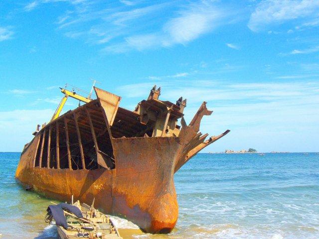 Старый корабль, Северная Корея