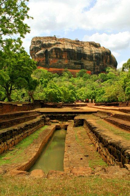 Древний город Сигирия, Шри-Ланка