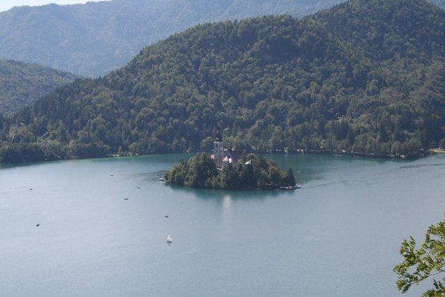 Сказочный остров на озере Блед, Словения