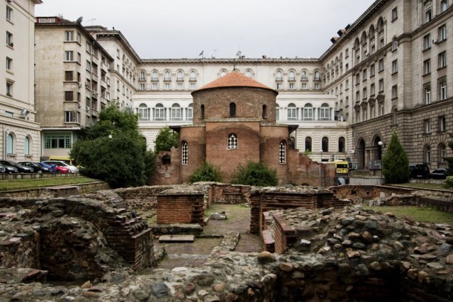 "Ротонда ""Свети Георги"", София, Болгария"
