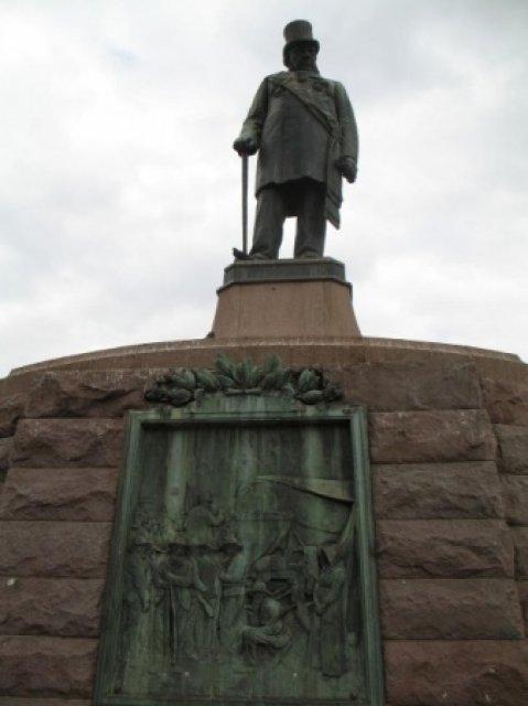 Памятник отцу-основателю бурского государства
