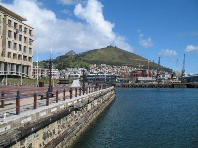 Красивый вид в порту