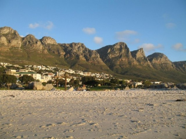 Пляжик в Кейптауне
