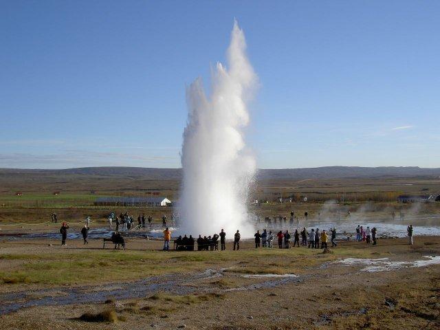 Стоккур Гейзер в Исландии
