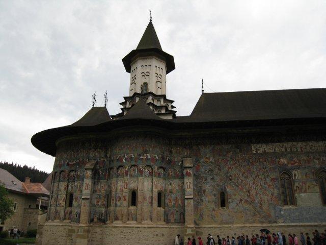 Монастырь Сучевица в Буковине, Румыния