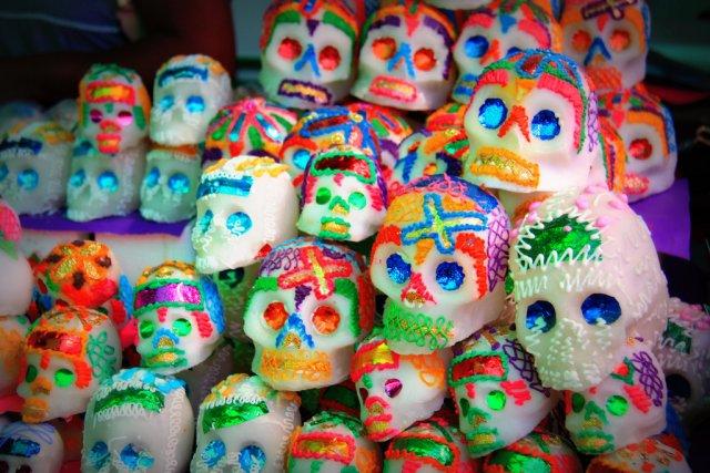 Сахарные черепа, День Мертвых в Мексике