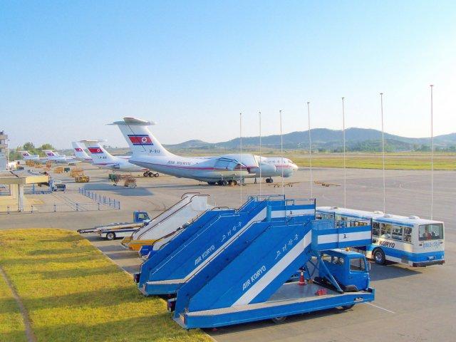 Международный аэропорт Сунан, Пхеньян, Северная Корея
