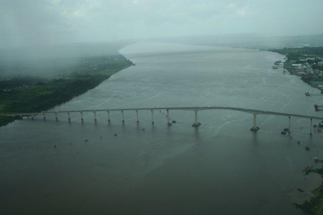 Река Суринам, Южная Америка