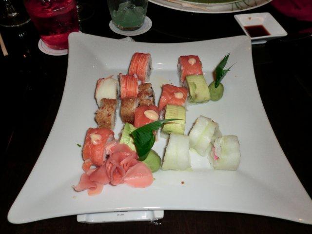 Японская кухня в ресторане отеля Beach Palace, Канкун, Мексика