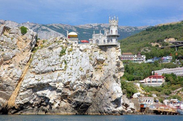 Ласточкино гнездо в Крыму, Украина