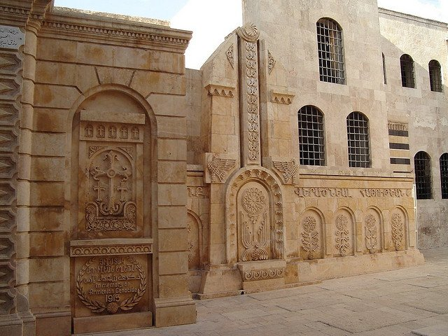 Армянская церковь в Алеппо, Сирия
