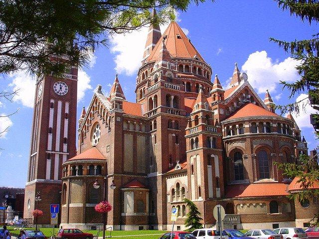 Кафедральный собор города Сегед, Венгрия