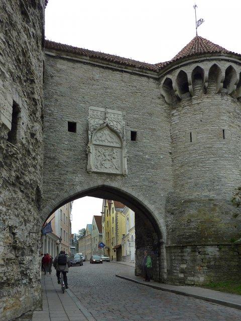 Городские ворота Старого города Таллин, Эстония