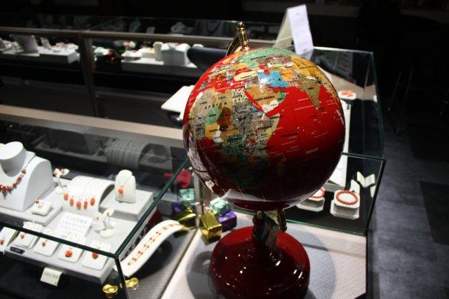 Глобус в музее, Тайбэй, Тайвань