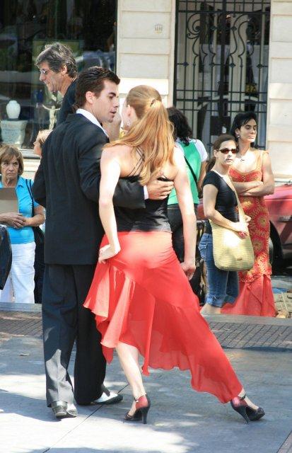 Танго в Буэнос-Айресе, Аргентина
