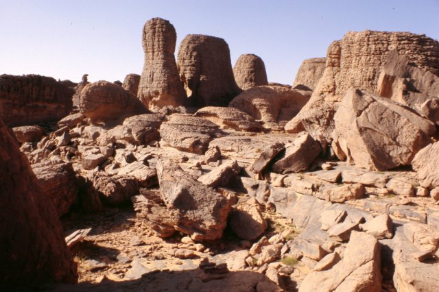 Плато Тассилин-Адджер, Алжир