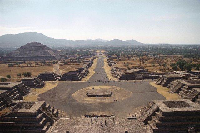 Древний город Теотиуакан, Мексика