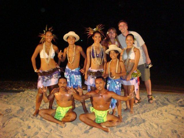 Местный жители Французской Полинезии