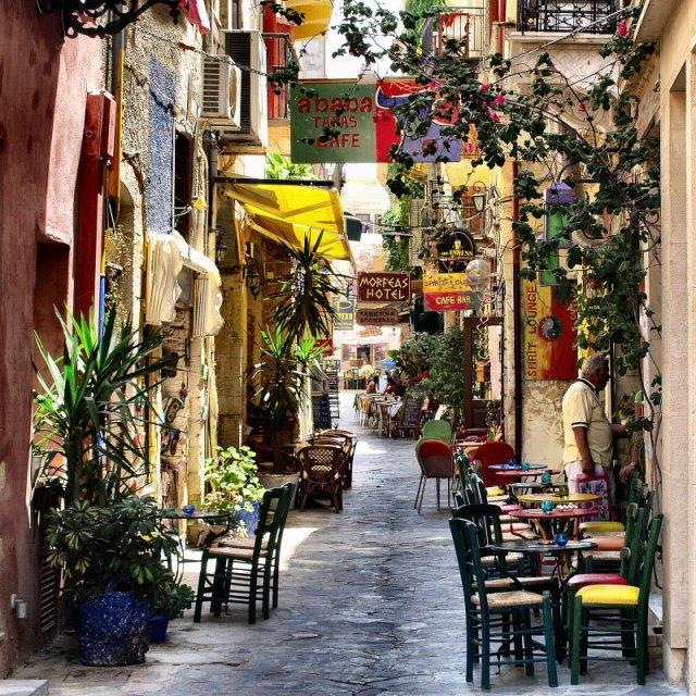 Чания на Крите, Греция