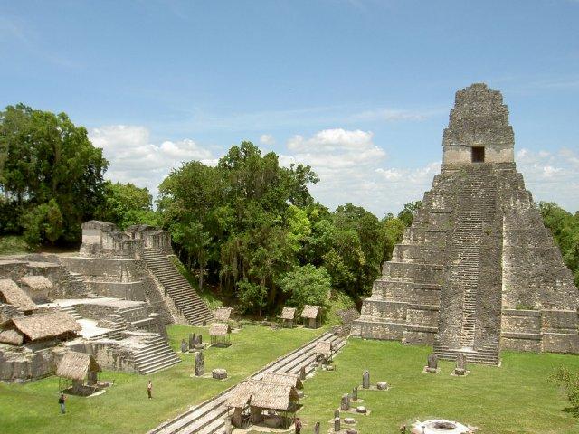 Храм Великого ягуара, Тикаль, Гватемала