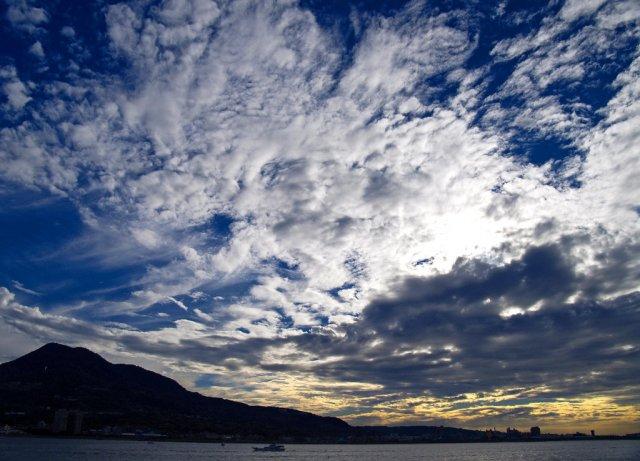 Небо перед закатом в Тайпэй, Тавань