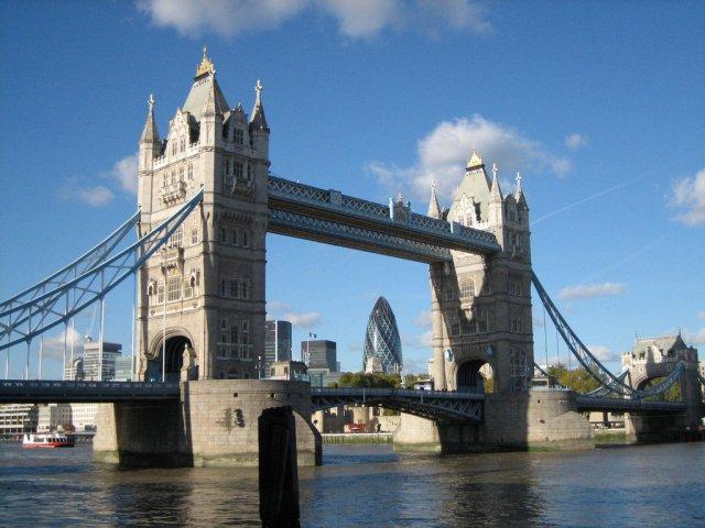 Тауэрский мост, Лондон, Великобритания