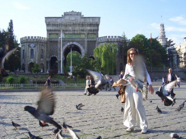 Площадь в Стамбуле, Турция