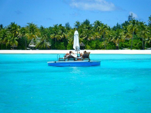 Остров атолла Вааву, Мальдивы