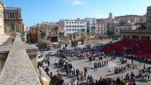 Центральная площадь Валлетты, Мальта