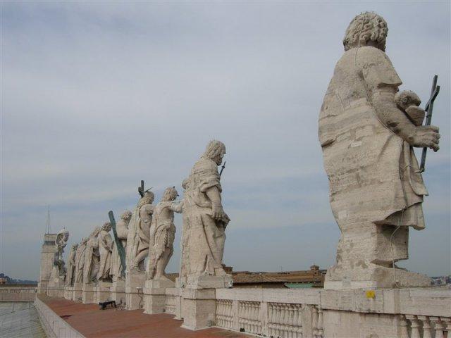 Вид на Ватикан с Собора Святого Петра