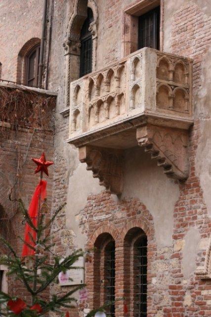 Балкон Джульетты, Верона, Италия