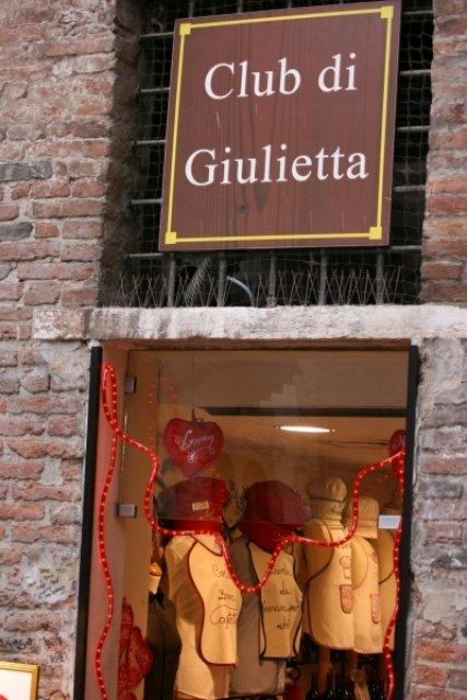 Клуб Джульетты, Верона, Италия