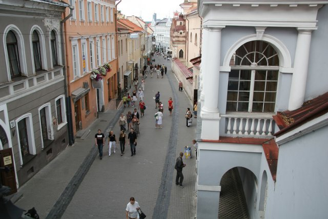 Улицы Вильнюса, Литва