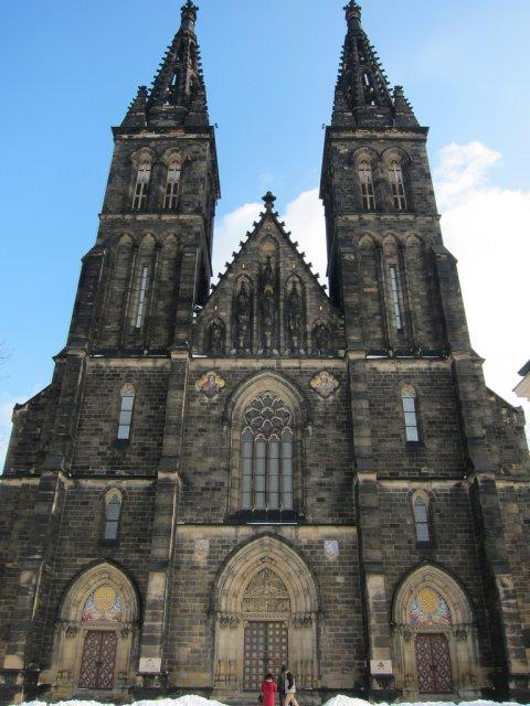 Готический собор св. Петра и Павла в Вышеграде, Прага, Чехия