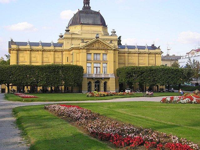 Площадь короля Томислава, Загреб, Хорватия