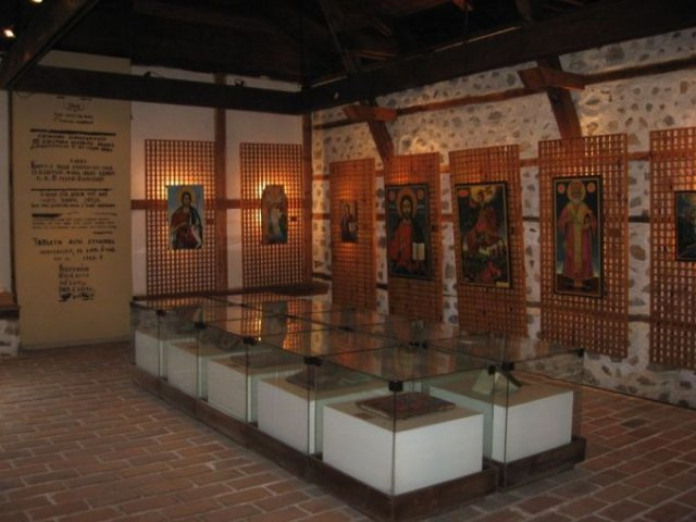 Иконная выставка в Банской художественной школе