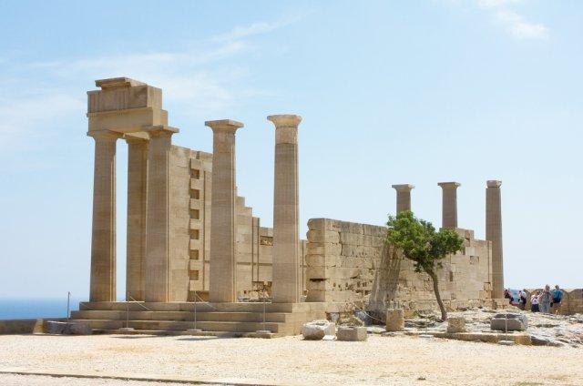 Акрополь Линдоса, Родос