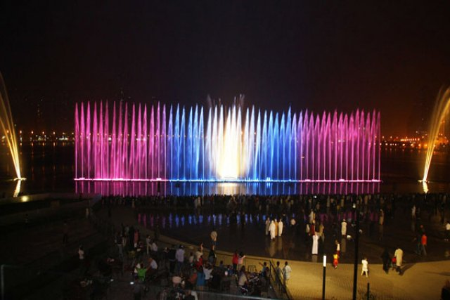 Набережная Аль-Маджаз и «Танцующий фонтан»