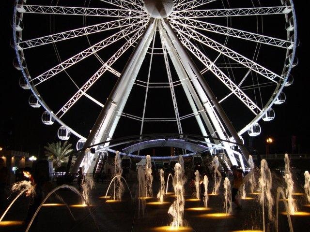 Канал Аль-Касба и колесо обозрения Etisalat Eye