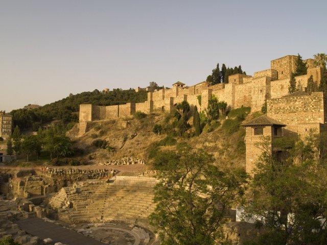 Крепость Алькасаба, Малага
