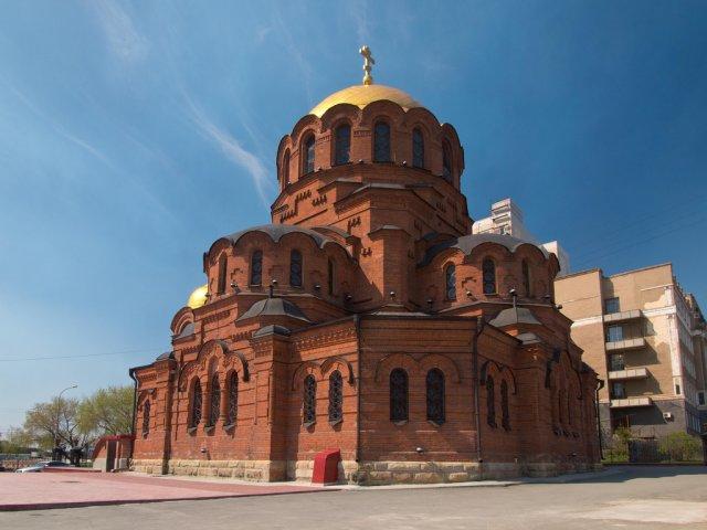 Собор во имя Александра Невского, Новосибирск