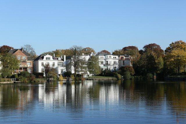 Озеро Альстер, Гамбург