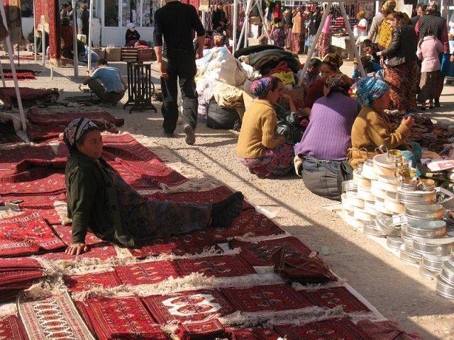 Восточный базар «Алтын асыр», Ашхабад