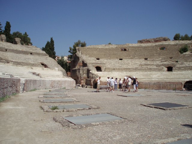 Амфитеатр Флавия в Поццуоли