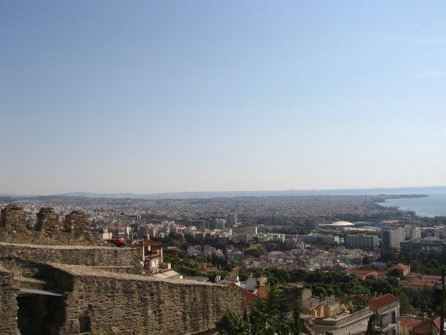 Верхний город, Салоники